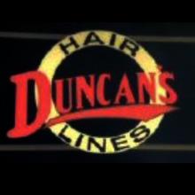 duncan's hair lines logo