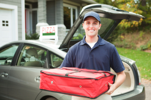 image of delivery person