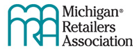 logo for michigan retailers association