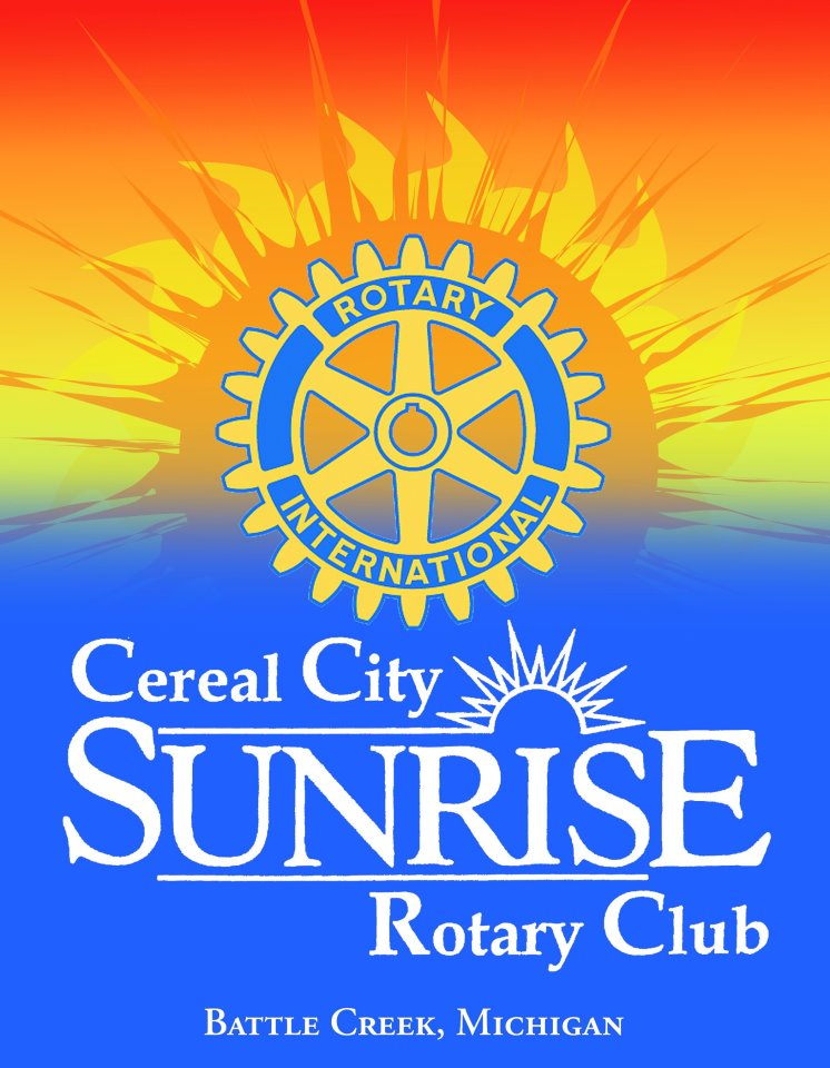 cereal city sunrise rotary club logo