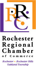 logo for rochester regional chamber of commerce